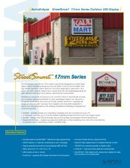Street Smart 17mm Br.. - Tek Solutions