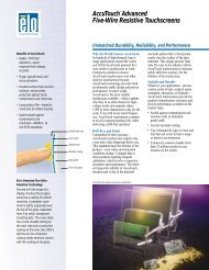 AccuTouch Brochure (200KB) - Tek Solutions