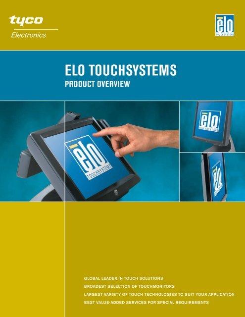 Elo Product Overview Brochure - Tek Solutions