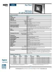 Elo Entuitive Model 1547L Product Brochure (PDF ... - Tek Solutions