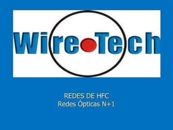 Redes HFC Nodo+1 /N+0 - Wire-Tech