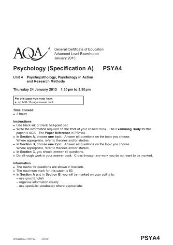 aqa 40301h qp jun13 Aqa-46552f-qp-jun13pdf you must answer the questions in the spaces provided do not write your answer outside the box around each page or on blank pages 5.
