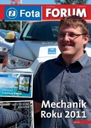 Mechanik Roku 2011 - Fota