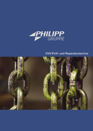 UVV-Prüf- und Reparaturservice - PHILIPP Gruppe