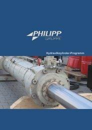 Hydraulikzylinder-Programm - PHILIPP Gruppe