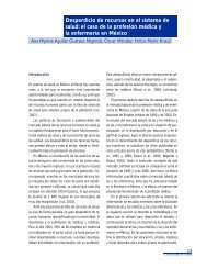 Desperdicio de recursos en el sistema de salud: el caso de ... - BVSDE