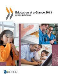 Education at a Glance 2013