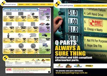ENGINE COOLING & AIR-CONDITIONING - Auto Parts Group
