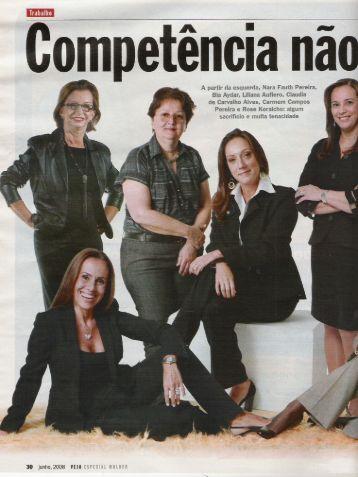 Competência não tem gênero Revista Veja Especial Mulher ... - OPEE