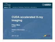 CUDA accelerated X-ray Imaging - ICCS