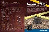 Superstrut Adjustable Universal Support