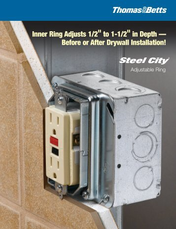 Steel City - Adjustable Ring