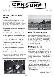 journal du 2 août 2007 - a2m2.ch