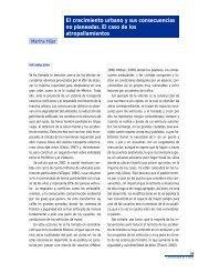 El crecimiento urbano y sus consecuencias no planeadas ... - BVSDE