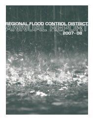 Annual Report for 2007 - 2008 - Clark County Regional Flood ...