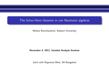 The Schur-Horn theorem in von Neumann algebras