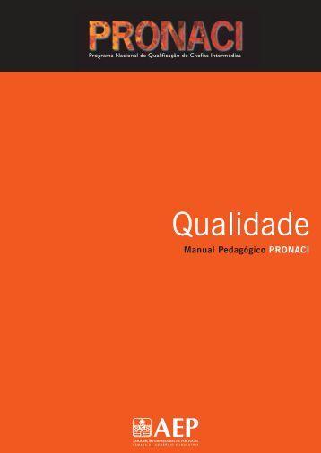 Qualidade AF 2ª.pdf - Programa de Formação PME - AEP