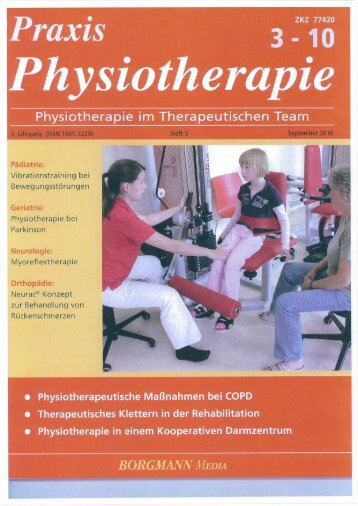 Praxis Physiotherapie 09/2010 (Download PDF-Datei)