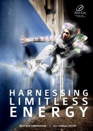 Harnessing Limitless Energy - First Gen 2011