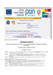 bando reclutamento risorsa umana c5 - Liceo Statale
