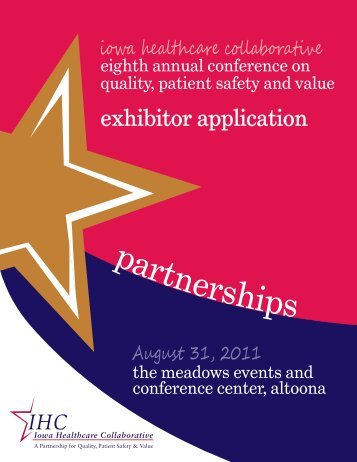 IHC AC Exhibitor Application 2011.indd - Iowa Healthcare ...
