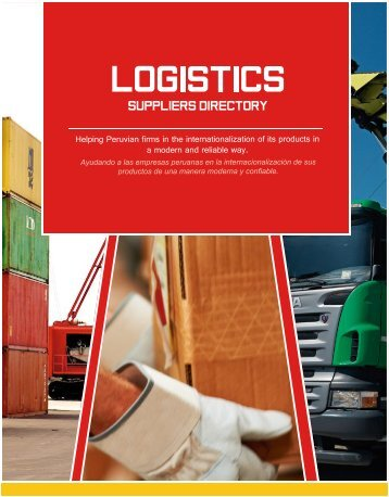 Logistics Section - ExporPerú - Peruvian Suppliers Directory 2015