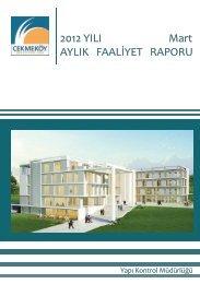2012 Yılı Mart Faaliyet Raporu