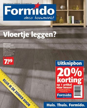 15% Korting - Formido