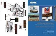 ALPHA Visual Retail Solutions - Tek Solutions