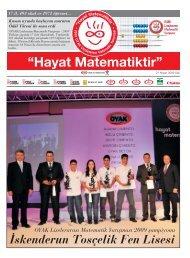Hayat Matematiktir Gazetesi 2009 - OYAK Çimento Grubu