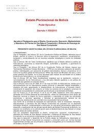 Estado Plurinacional de Bolivia - Estrucplan
