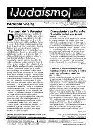 Parashat Shelaj - Ohr Somayach