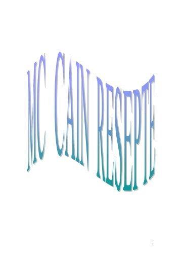 McCain resepte - Peterjasie