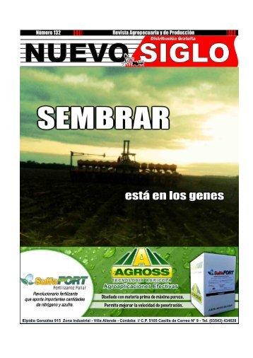 Revista Agropecuaria Nuevo Siglo Número 132