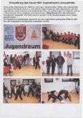 Eigenbericht, 21.01.2010 Einweihung des neuen SSF Jugendraums ... - Page 2