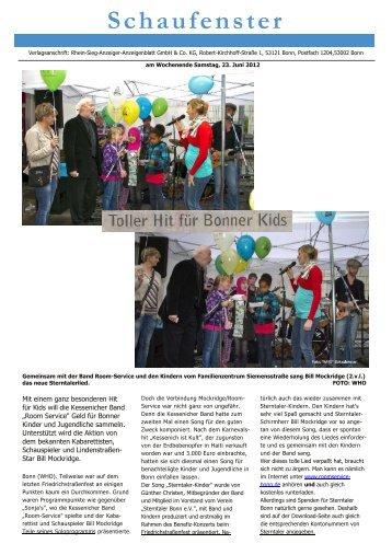 Schaufenster - Sterntaler Bonn e.V.