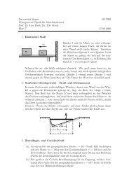 Übungsblatt 7 - Universität Siegen