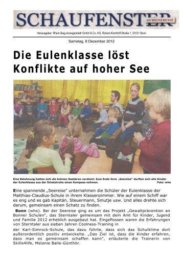 Die Eulenklasse löst Konflikte auf hoher See - Sterntaler Bonn e.V.