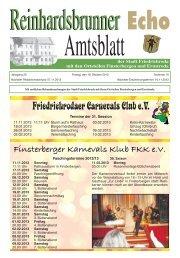 Finsterberger Karnevals Klub FKK eV -  Friedrichroda