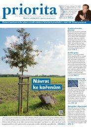 Priorita 01/2013 - Operační program Životní prostředí