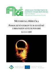 metodická příručka posouzení stokových systémů urbanizovaných ...