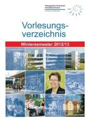 European Credit Transfer System (ECTS) - Pädagogische ...