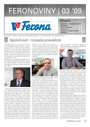FERONOVINY   03 '09 - FERONA Slovakia, as