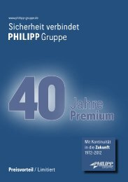 Premium 2012 - PHILIPP Gruppe
