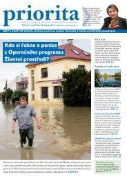 Priorita 05-2010.indd - Operační program Životní prostředí