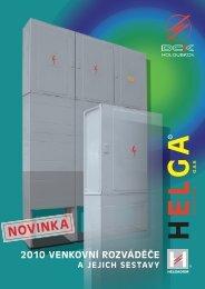 katalog sestav HELGA - novinky 2010 - DCK Holoubkov Bohemia as