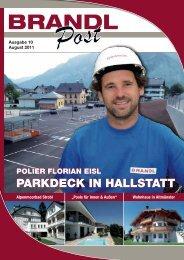 Ausgabe 10 - August 2011 - Brandl-Bau