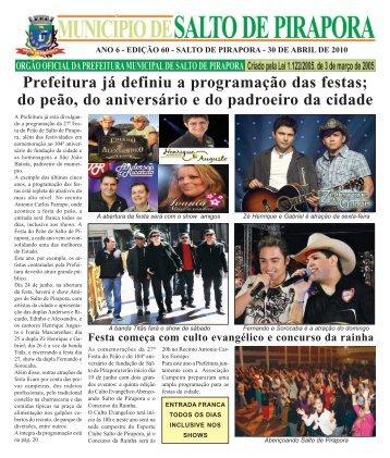 Prefeitura já definiu a programação das festas - Prefeitura Municipal ...