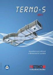 TERNO-S, stavebnicový větrací a klimatizační systém 2007 - ALTEKO