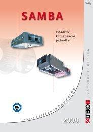 sestavné klimatizační jednotky - ALTEKO